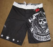 SOA Board Shorts REAPER LOGO  Officially Licensed Sons of Anarchy Merchandise