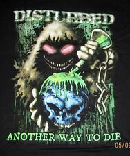 Disturbed Another Way to Die Heavy Metal Band Adult T-Shirt Tee Brand New