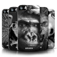 UK, Hard Case for Apple iPhone 4/4s Designer Fashion Bling Cover / B&W Wildlife