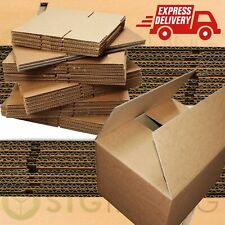 NEW X LARGE SUPER STRONG DOUBLE WALL CARDBOARD BOXES HOUSE REMOVAL PACKING BOXES