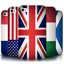 Phone Case Hard Back Cover/Skin Sleeve for Apple iPhone 5C / World Country Flags