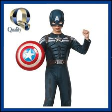 Kids Boys Licensed Avengers Captain America Winter Soldier Costume