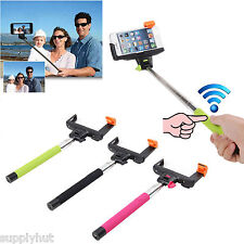 Wireless Bluetooth Extendable Monopod Self Portrait for iPhone 5S/5/5C/4/4S IOS