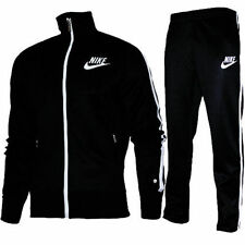 Nike Classic Jogginganzug Schwarz Black Warmup Suit Trainingsanzug Retro