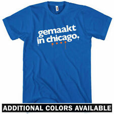 Made in Chicago T-shirt - Dutch - Windy City 312 773 Chi - Men and Kids XS-4XL