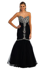 Strapless Sweetheart Floor Length Dress Mermaid Sequin Sexy Elegant Classy Prom