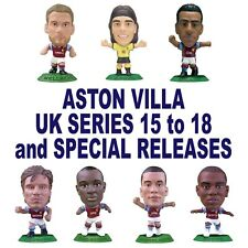ASTON VILLA MicroStars - UK Series 15 to 18 and Specials  Choose from 11 figures