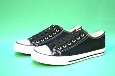 New Men's Canvas Sneakers Classic Lace Up Fashion Casual Shoes Colors,Size:7-12