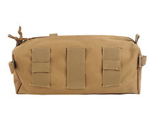 Military Tactical Arym Stash Bag Package Collection Utility Pouch Black Khaki