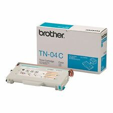 GENUINE BROTHER TN-04C CYAN LASER PRINTER TONER CARTRIDGE FOR HL & MFC SERIES