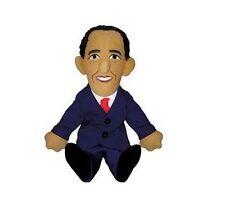 Plush - Little Thinker - Barack Obama Soft Doll Toys Gifts Licensed New 0310