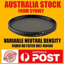Variable Neutral Density Fader ND2 ND400 ND Filter 52mm 58mm 67mm 72mm 77mm 82mm
