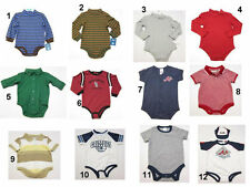NEW Infant Baby Boys Creeper Snapsuit bodysuit Newborn to 24 months