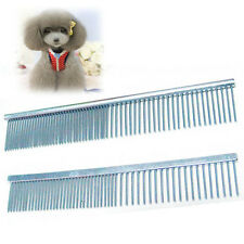 Stainless Steel Puppy Comb Pet Flea Brush Comb Pet Supplies Dog Cat Pin Comb HQ