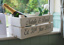 Personalised Apple Crate / Planter / Storage / Gift Idea / Bushel Box / Wedding