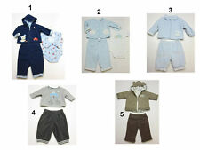 NEW BOY Girls 2 & 3 PC winter OUTFIT SET  Sweat-suit Hooded padded suit size 0-3