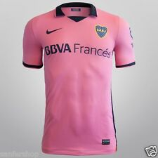 NWT CLUB ATLETICO BOCA JUNIORS 2013-2014 AWAY PINK JERSEY/SHIRT ALL SIZES