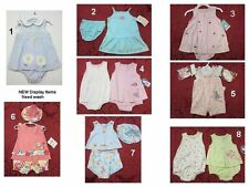 NEW Girls 2 Pc outfit set Creeper Shortall dress Carters,Disney baby,Okie-Dokie,