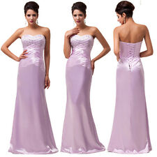 Long Sexy Evening Party Homecoming Prom Gown Formal Bridesmaid Cocktail Dresses