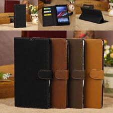 Retro Leather Card Holder Wallet Flip Case Cover For Sony Xperia Z Ultra XL39H