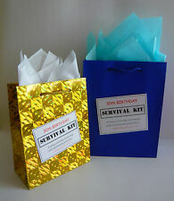 MALE 30th Birthday SURVIVAL KIT Novelty Gift Idea Alternative To Greeting Card