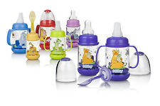 New!! Nuby Infant Feeding Set With Massaging Nub-eez BPA Free!! Many Colors-New!