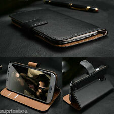 Genuine 100% Real Leather Wallet stand case cover for LG GOOGLE NEXUS 4