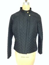 Barbour Ladies Fuel Quilted Jacket US size 10 Black  NWT