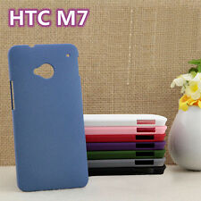Sale Ultra-thin Simple Matte Shell Matting Case Cover Skin For HTC ONE M7 801e