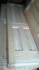 4 PANEL SOLID CORE WOOD DOORS NEVER INSTALLED NEVER BORED