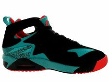 ORIGINAL NIKE AIR TECH CHALLENGE HUARACHE TRAINERS  BLACK TURBO GREEN 630957003
