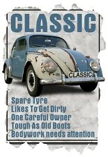 Mens T-Shirt, Classic VW Beetle Funny Quote Ideal Birthday Gift Present.