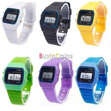 New Hot Women Men LED Digital Touch Screen Silicone Date Time Sport Wrist Watch