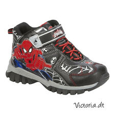 NEW Marvel Ultimate SPIDERMAN BOOTS SHOES size 12 13 Boys