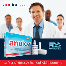 Best Hemorrhoid Treatment: ANUICE, FDA Approved Effective Quick Home Treatment