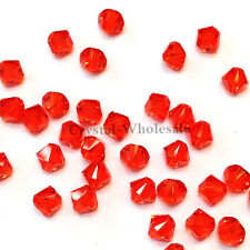 5mm Hyacinth (236) Genuine Swarovski crystal 5328 / 5301 Loose Bicone Beads