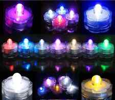 4 712  24 36 48 Bright LED Floral Tea Light Submersible Floral Party Wedding