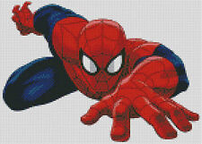 Cross stitch chart, pattern, Spiderman, Cartoon, Comic, Peter Parker
