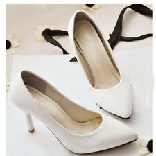 Womens Stiletto Classics Professional Shoes White-collar High Heels More Color