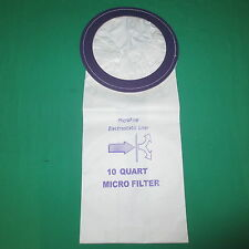 Proteam Perfect 10 Quart Backpack Micro Allergen Filtration Vacuum Bags 1000331
