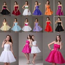 Short/Mini Formal Prom Dress Cocktail Ball Evening Party Homecoming Gown Stock