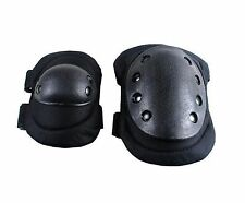Adjustable Airsoft Tactical Combat Protective Knee + Elbow Pad Skate Knee Pad
