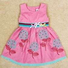 Girls Kids Cotton Princess Bows Sequin Party Dress Age Mths Yrs Next Day Option