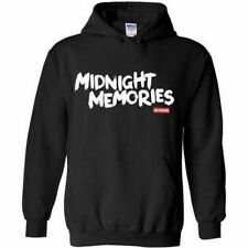 One Direction Midnight Memories Black Hoodie New Official Licensed Merchandise