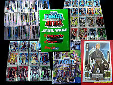 Topps FORCE ATTAX Star Wars CLONE WARS Serie 2 SET+KARTEN Trading Cards