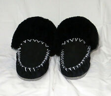 Brand New Australian Made Sheepskin black size 8 Moccasins Men Women adult