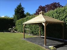 3M Wooden Gazebo Delivered and Hand Built Onsite