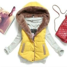 Women Winter Hooded Thick Warm Waistcoat Vest Hoodie Coat Jacket New And Hot