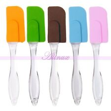 Non Stick Cake Silicone Spatula Scraper Butter Stir Fry Utensils Knife Baking
