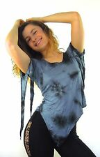 Pixie top elfin pirate style raggle-taggle pointy lycra cotton party tribal psy